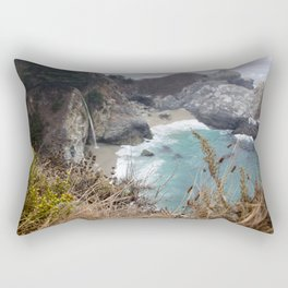 McWay Falls West Coast Roadtrip Rectangular Pillow
