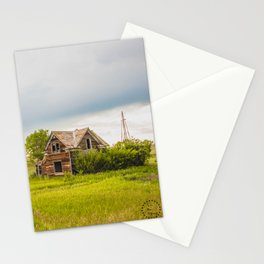 Roadside Homestead, North Dakota 1 Stationery Cards