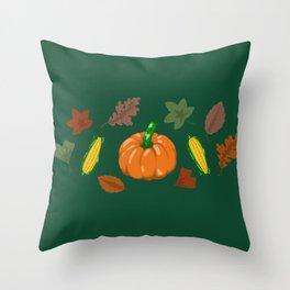 Fall #4 Throw Pillow