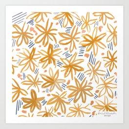 Splendid Adventure Pattern Art Print