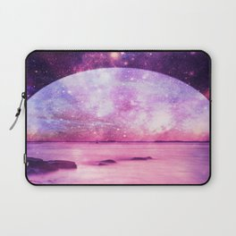 Mystic Lake Pink Purple Laptop Sleeve