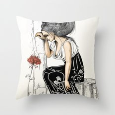 Romantic Throw Pillow