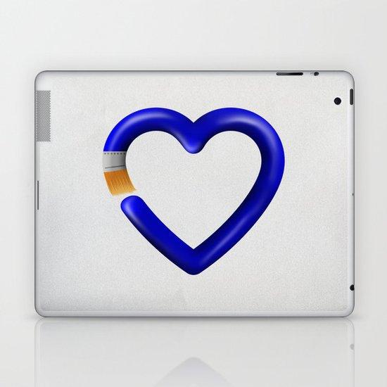 Love to paint Laptop & iPad Skin