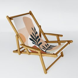 Geometric Shapes Sling Chair