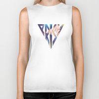 prism Biker Tanks featuring PRISM by TheDraw