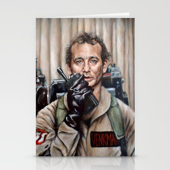 Bill Murray / Ghostbusters / Peter Venkman Stationery Cards