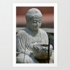 Prayer for Buddha Art Print
