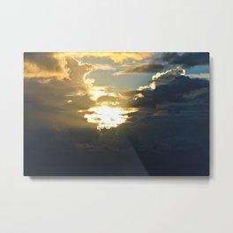 Sun Peek Metal Print