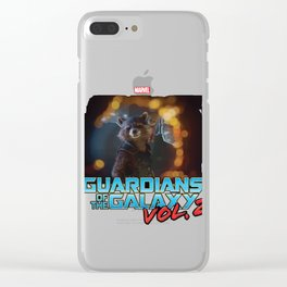Guardians of the Galaxy Vol 2 Clear iPhone Case