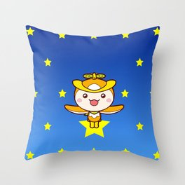 Midnight Tokoron Throw Pillow