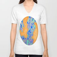 cracked V-neck T-shirts featuring Cracked by Carrollskitchen on youtube