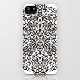 Healing Emotion Mandala iPhone Case