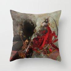 lussuria Throw Pillow