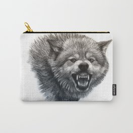 Wolf smile Carry-All Pouch