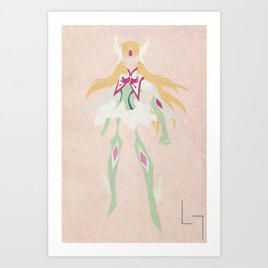 Yuna Aquila Art Print