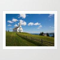 Highland Village, Cape Breton Island Art Print