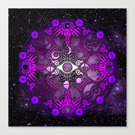 Magic Circle - Yuko Ichihara Canvas Print