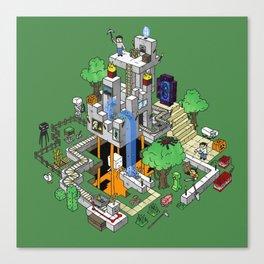 Mine City Canvas Print