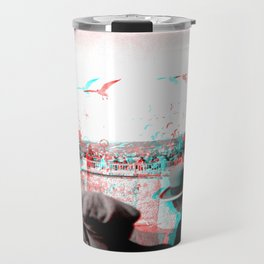 Vintage Nice In 3D 1930 Travel Mug