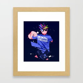 sorry for partying Framed Art Print