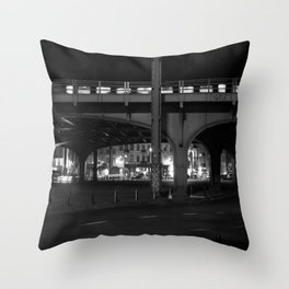 City Night Life Throw Pillow
