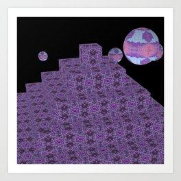 Pyramide Grotesque 9 Art Print