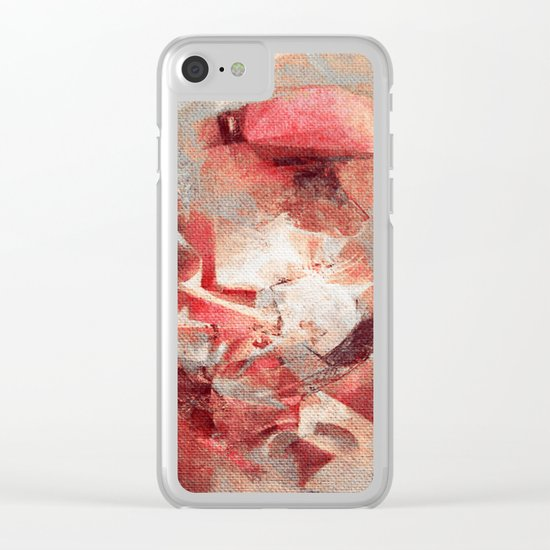 Anthropophagic Deliriums Clear iPhone Case