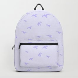 Fading Blue Birds Backpack
