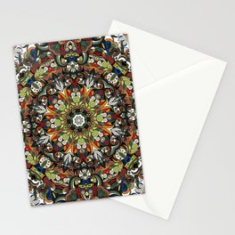 Boho Geometric Mandela Pattern 1 Stationery Cards