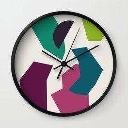 Abstract No.16 Wall Clock