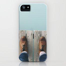 Wanderboots iPhone Case