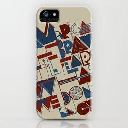 America the Brave iPhone Case