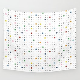Pin Points Repeat Wall Tapestry