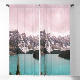 Moraine Lake Banff National Park Blackout Curtain