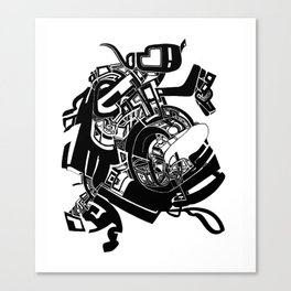 big city 1a Canvas Print
