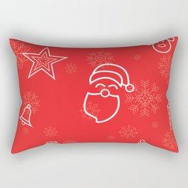 Christmas Vibes Rectangular Pillow