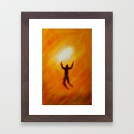 From the Rising of The Sun Framed Art Print