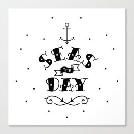 Seas the Day Canvas Print