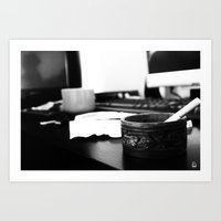the office Art Prints featuring Office by Difilippo