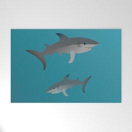 Sharks Welcome Mat