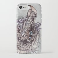 caitlin hackett iPhone & iPod Cases featuring the Chamberlain  by Caitlin Hackett