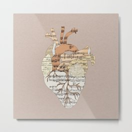 Sound Of My Heart Metal Print