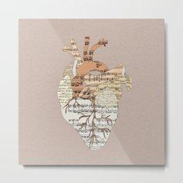 Sound Of My Heart Metal Print