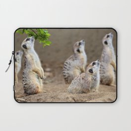 Meerkats on the Lookout by Reay of Light Laptop Sleeve