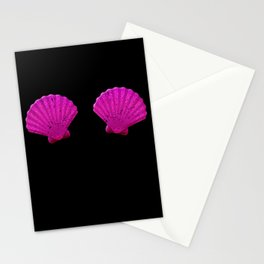Funny Mermaid Shell Bra Top product Festival Seashell Party Stationery Cards