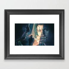 Walter and Peter Framed Art Print