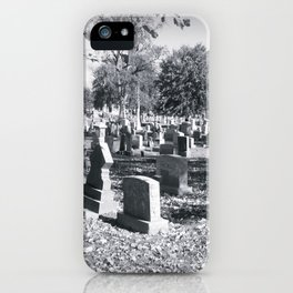 Cemetery#2 iPhone Case