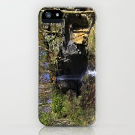 Waterfall at Lumsdale iPhone Case