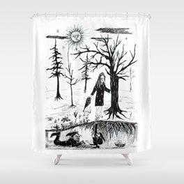Nightwalker Shower Curtain