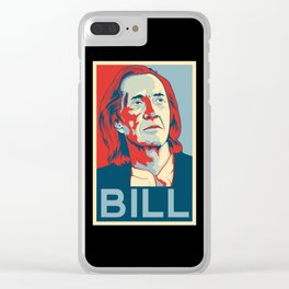 """Kill Bill """"Hope"""" Poster Clear iPhone Case"""